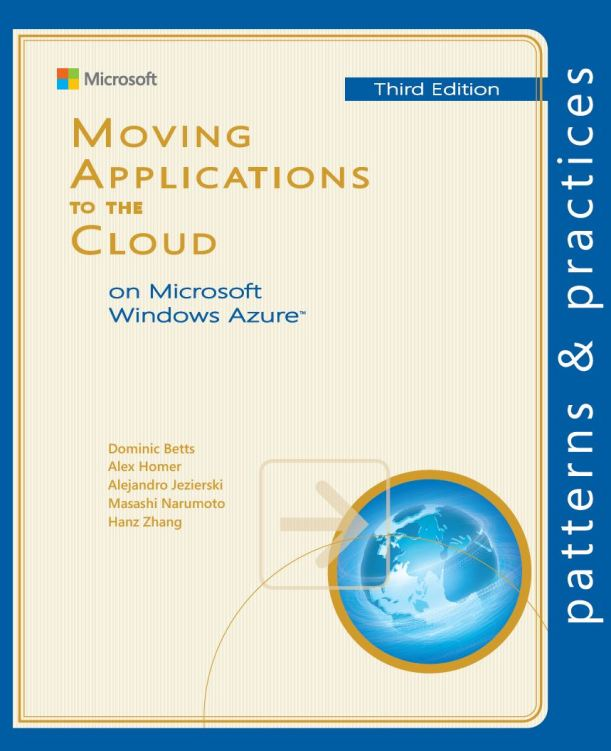 Moving Applications to Windows Azure cover