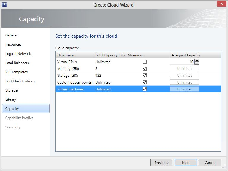 Create Cloud 10