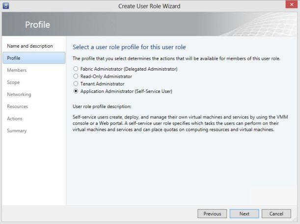 Create User Role Tenant for Private Cloud 3