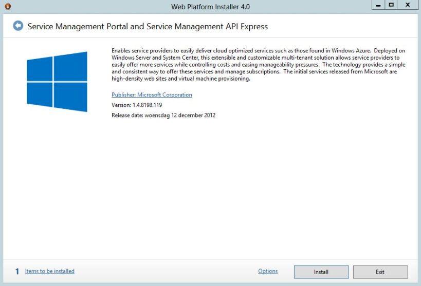 Service Management Portal