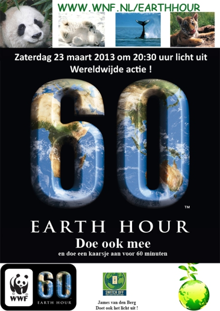 Earth Hour 2013 A4 format