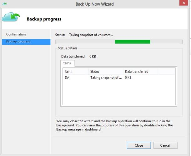 Backup Now WAB 2