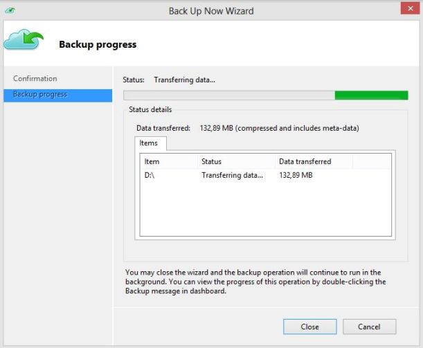 Backup Now WAB 3