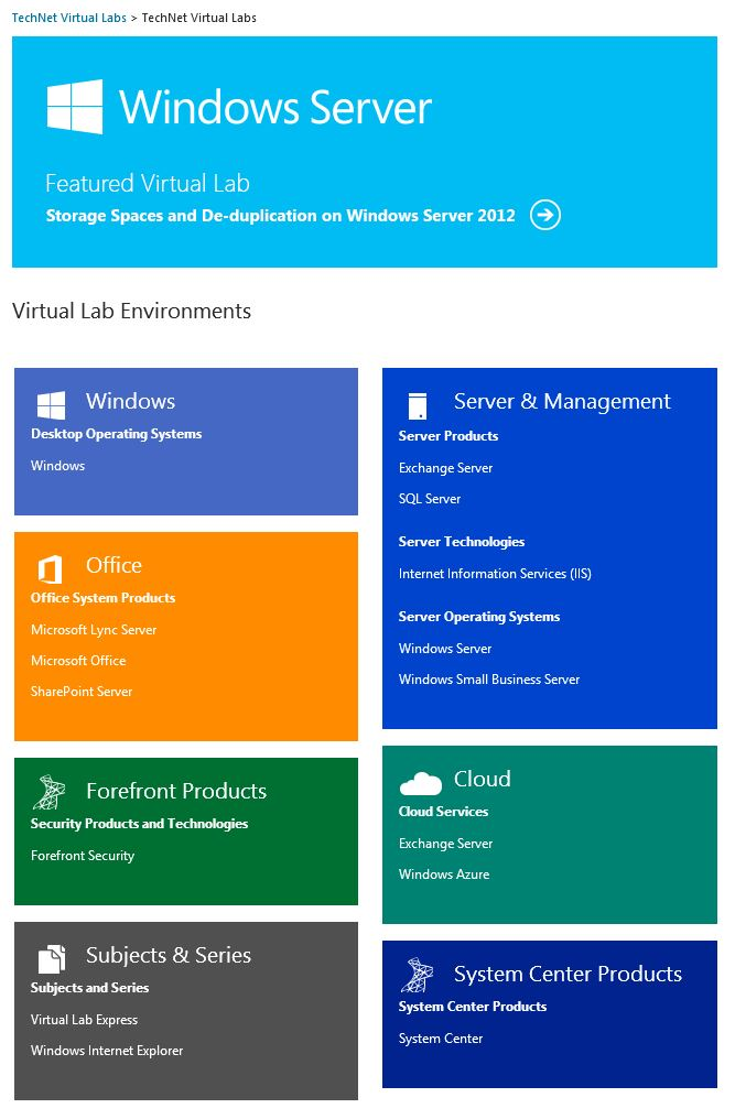 VirtualLabs 1