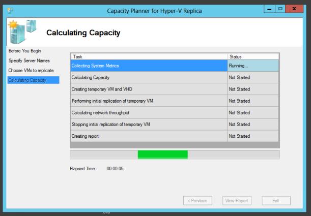 Hyper-V Replica  Capacity