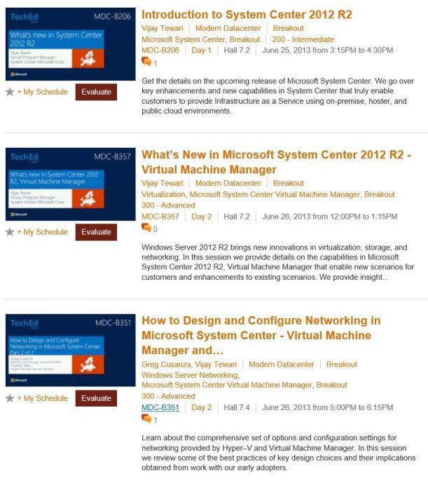 System Center 2012 R2 VMM Videos