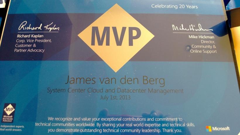 MVP Award 2013 -3
