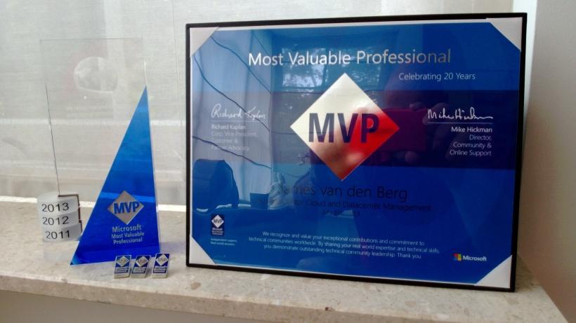 MVP Award 2013 -4