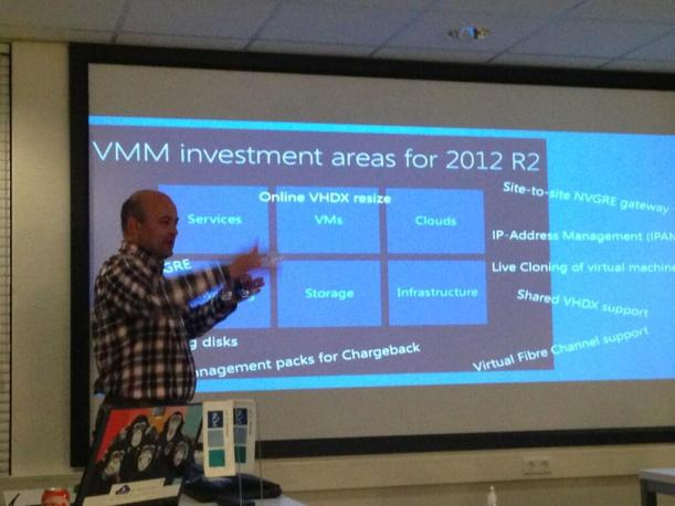 SCVMM 2012 R2 WMUG