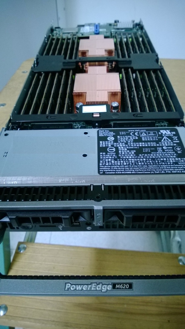 Dell M620 Blade 384GB Memory