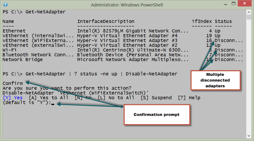 Powershell Networking