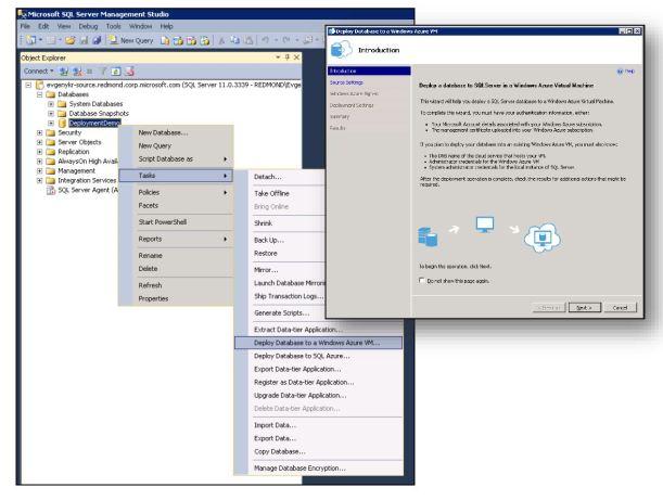 SQL2014 Database to WindowsAzure