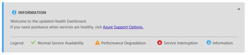 Windows Azure info
