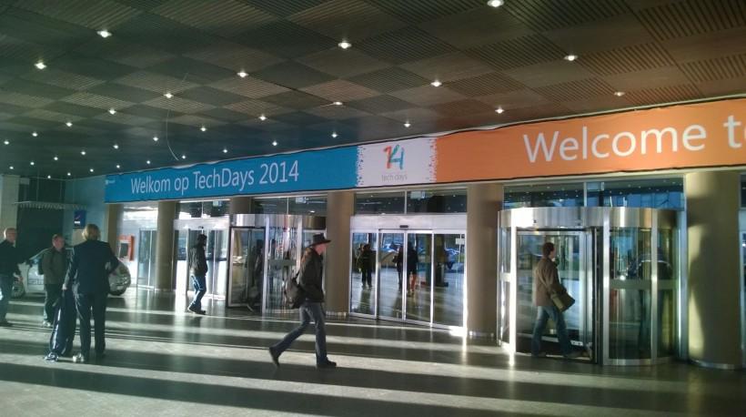 Entrance TechDaysNL