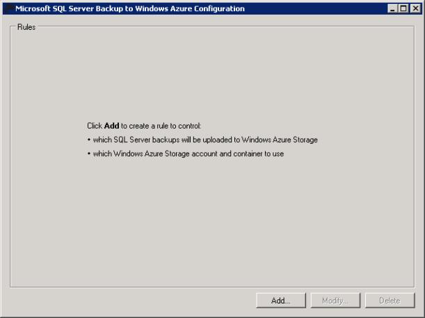 SQL Server Backup to Azure 2