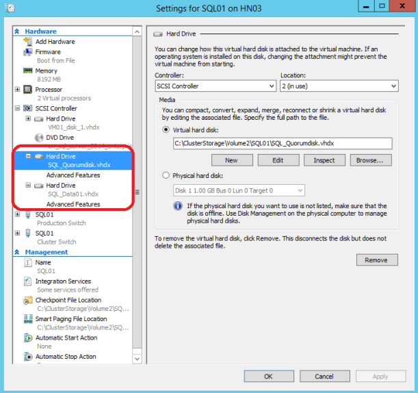 Failover Cluster Manager 2