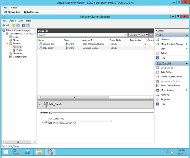 Failover Cluster Manager 3