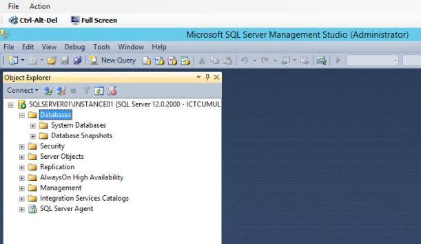 SQL2014 Studio