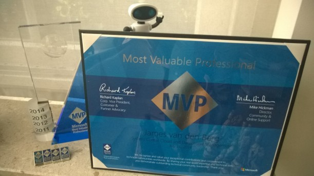 MVP Award 2014