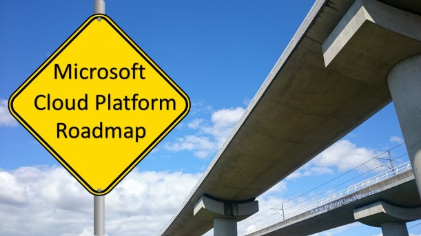 Microsoft Cloud Roadmap