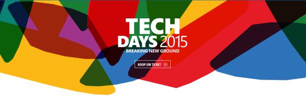 TechDays2015NL