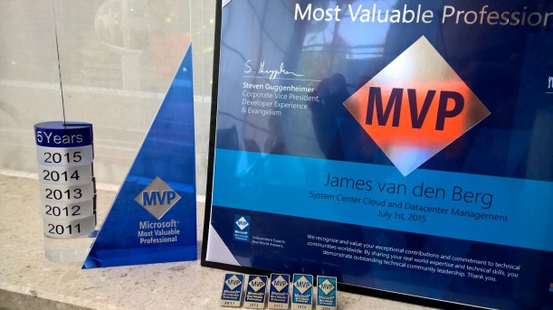 5th MVP Award SCCDM