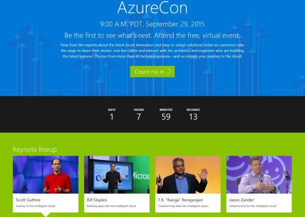 AzureCon2015