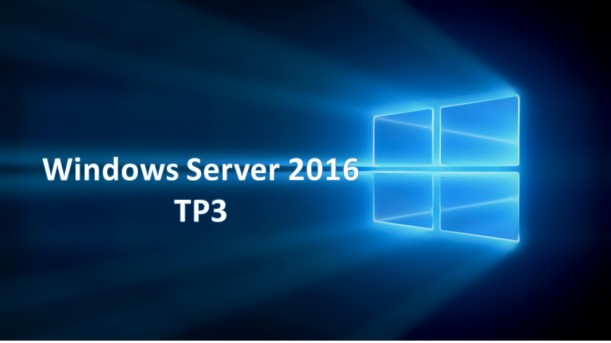 Windows Server 2016 TP3