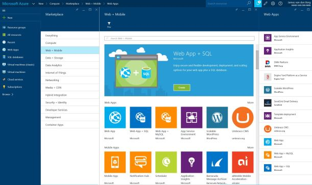 Azure Web Mobile 01