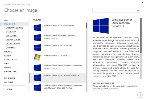 Microsoft VM