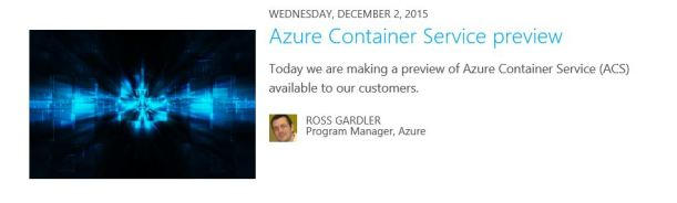 Azure Containers