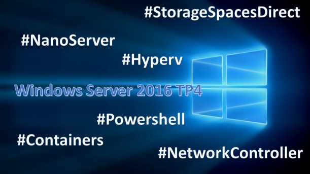 Windows Server 2016 TP4