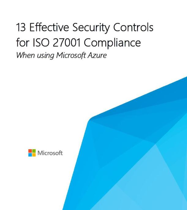 Security Controls for ISO 27001