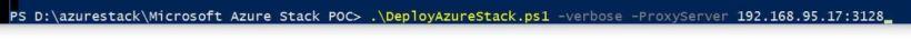 AzureStack Deploy script cmd