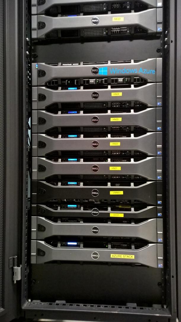 AzureStack Rack