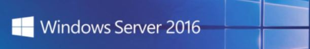 Windows Server 2016 banner