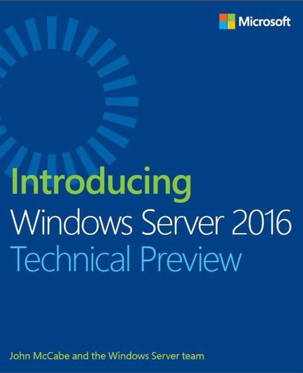 Windows Server 2016 TP Ebook