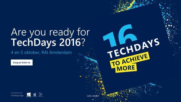 techdays-2016