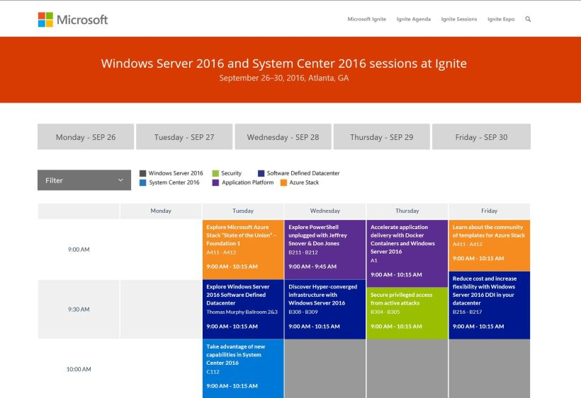 winserv-and-sysctr-ignite-sessions
