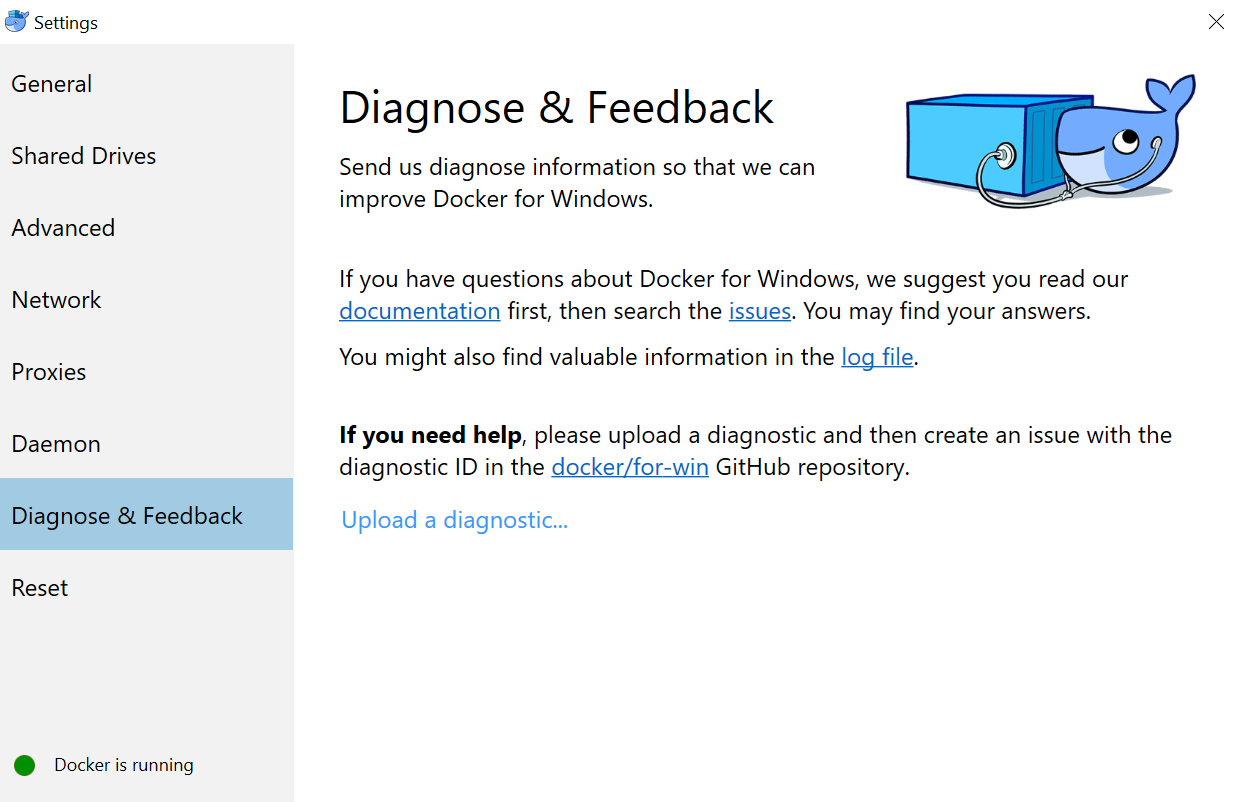 UPDATE #Docker Community Edition for #Windows10 playing with