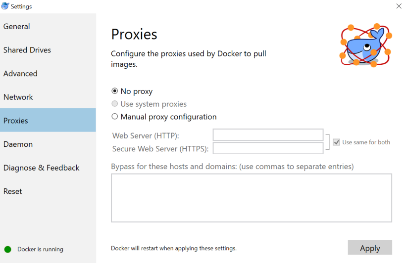 docker-proxies
