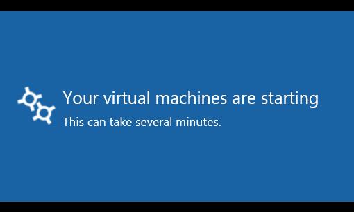 virtual-lab-machines-starting