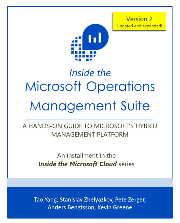 Inside the #Microsoft Operations Management Suite E-book #MSOMS #Azure by #MVPbuzz #MSFT
