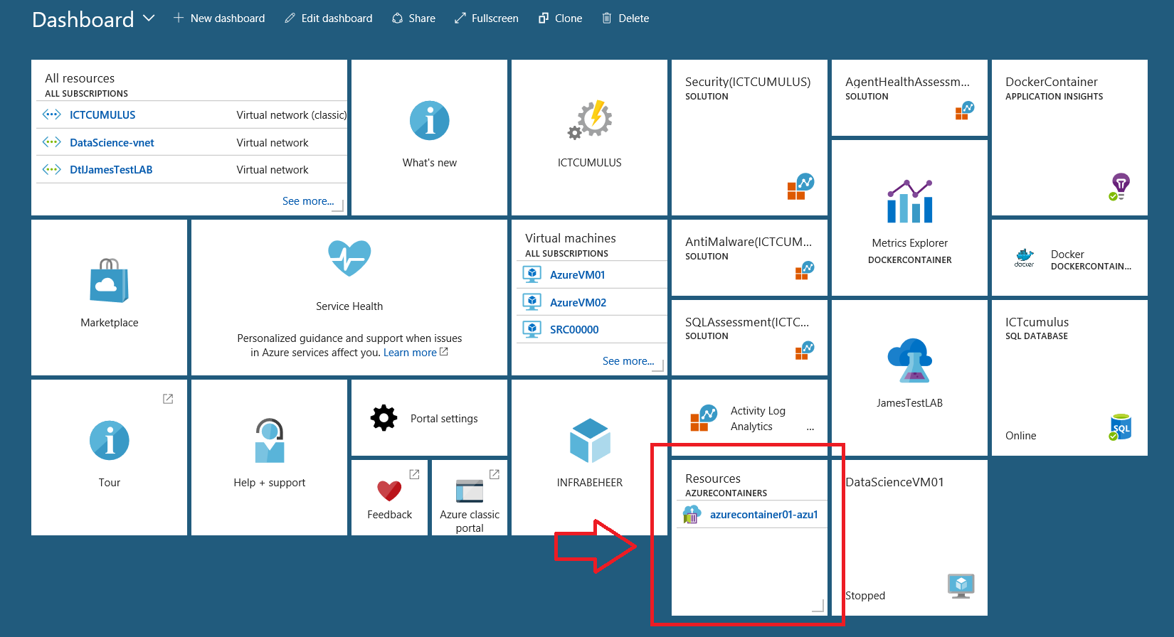 Create your first #Azure Container Instance in the #Cloud with
