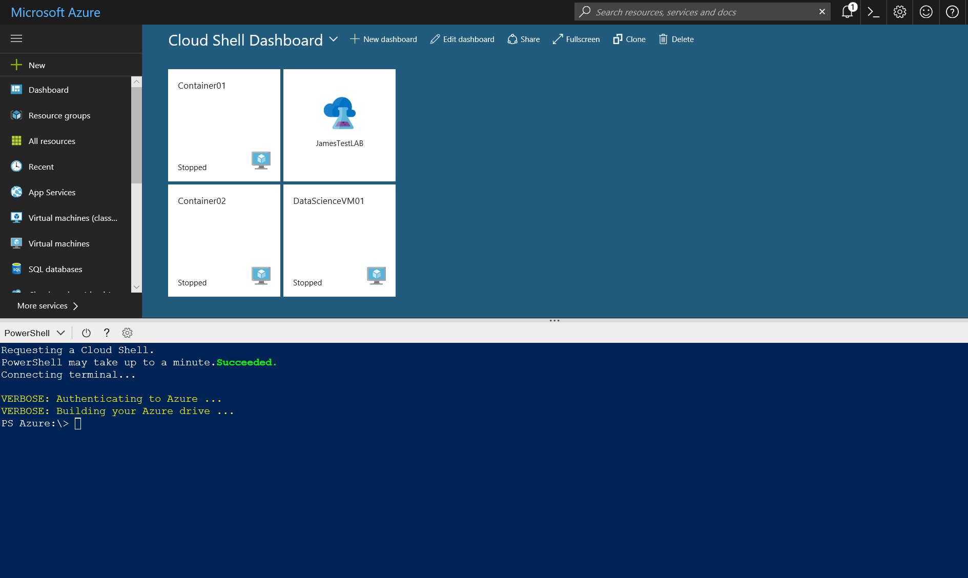 Microsoft Azure #CloudShell Overview with #Bash CLI 2 0 and