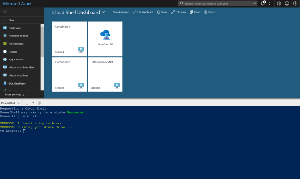 Microsoft Azure #CloudShell Overview with #Bash CLI 2.0 and #Powershell #Azure #DevOps