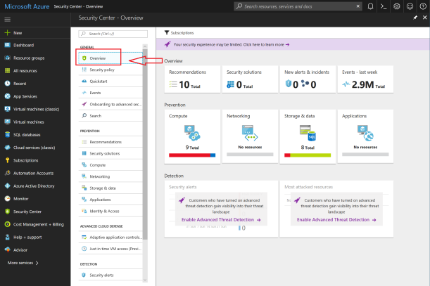 #Microsoft Azure Security Center Overview #Cloud #Security #HybridCloud #Azure