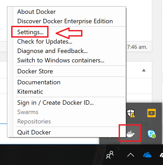 Docker CE for Windows10 Edge and #Kubernetes Feature