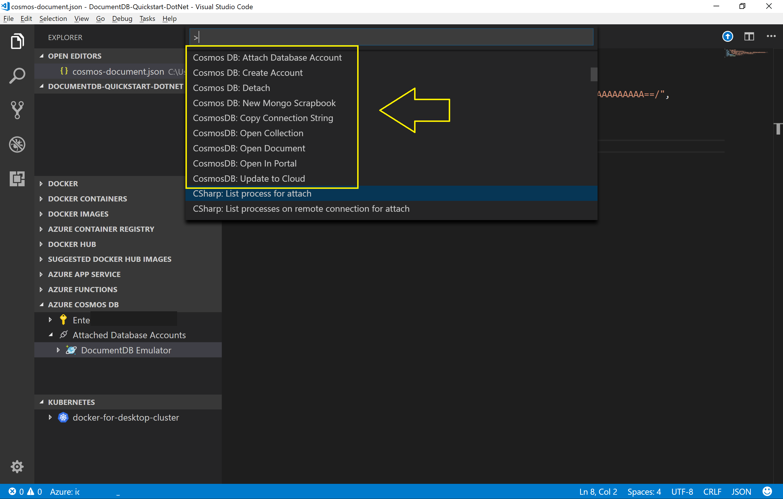 Use the Azure Cosmos DB Emulator for local development and