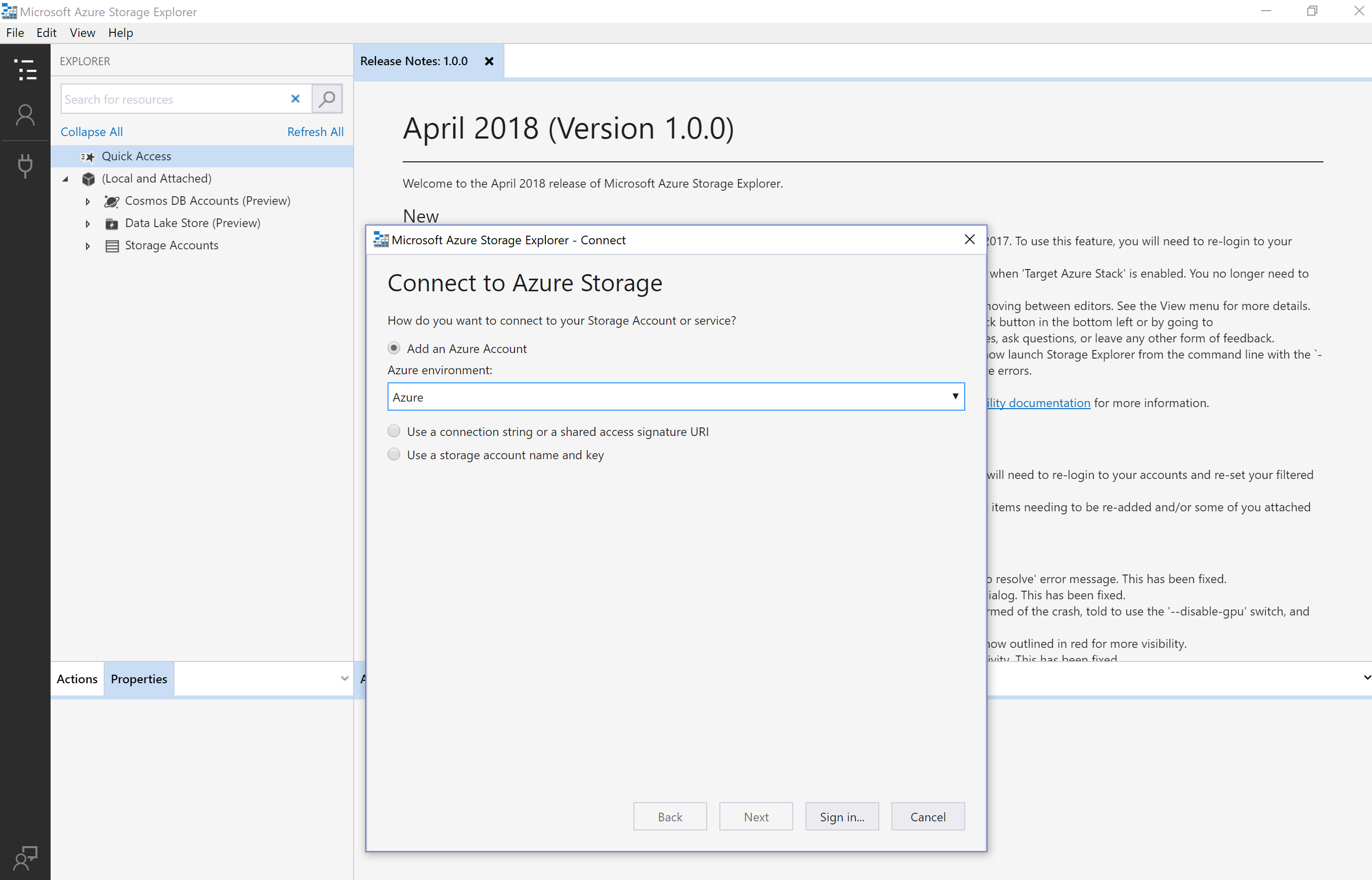 Microsoft Azure Storage Tools AzCopy and #Azure Storage Explorer